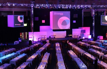 Corporate Event Production Lighting Stage And Sound