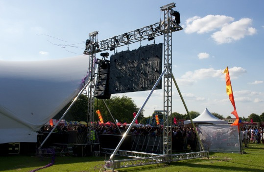 LED Video Screen Hire and Big Screen Hire for all Live Events