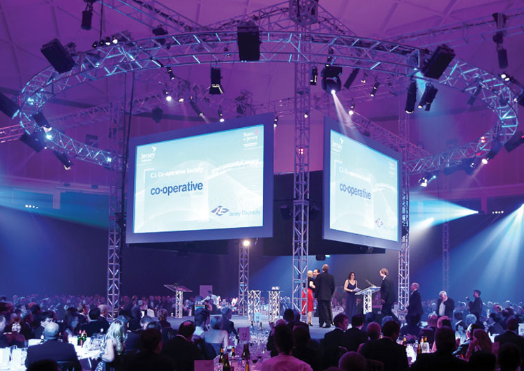 Conference lighting hire