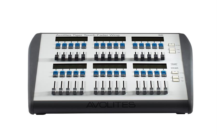 Avolites Tiger Touch Wing dry hire